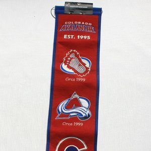 Colorado Avalanche Est. 1995 Wall Hanging Banner